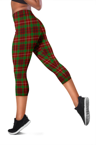Ainslie Copy Tartan Capris Leggings