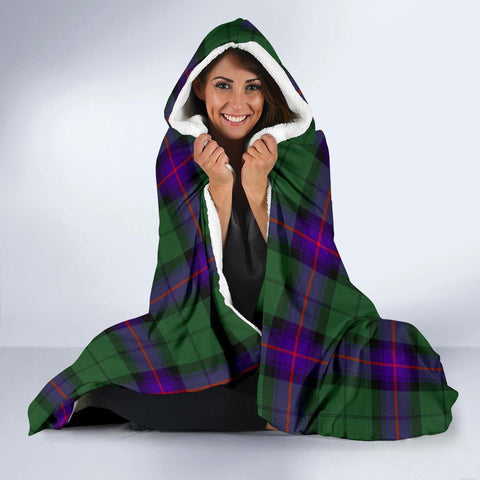 Image of Armstrong Clans Tartan Hooded Blanket - BN