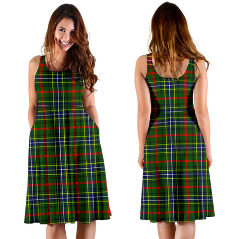 Bisset Plaid Women's Dress