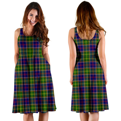 Image of Ayrshire District Plaid Women's Dress
