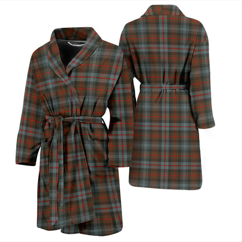 Murray Of Atholl Weathered Tartan Mens Bathrobe - BN