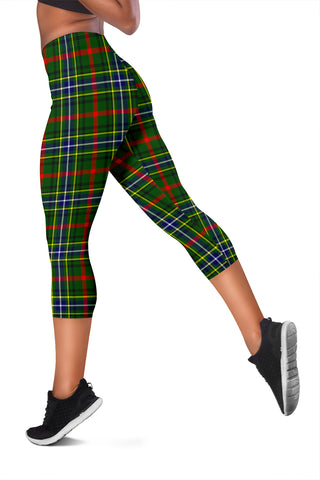 Image of Bisset Tartan Capris Leggings