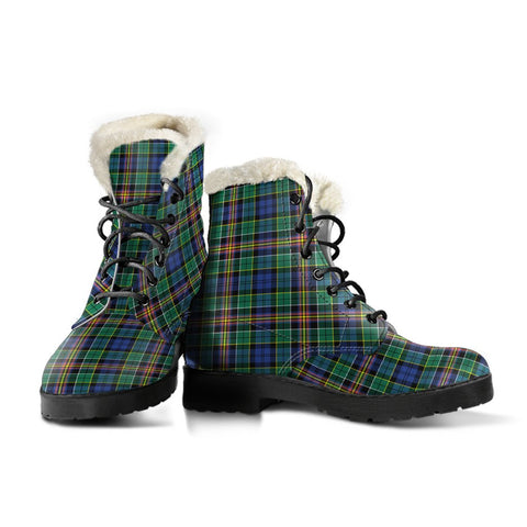 Image of Allison Tartan Boots For Women