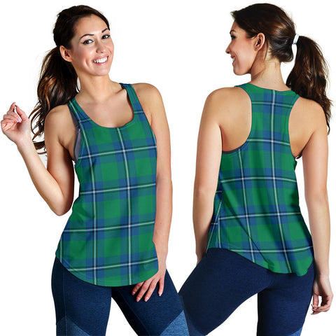 Image of Irvine Ancient Tartan Women Racerback Tank