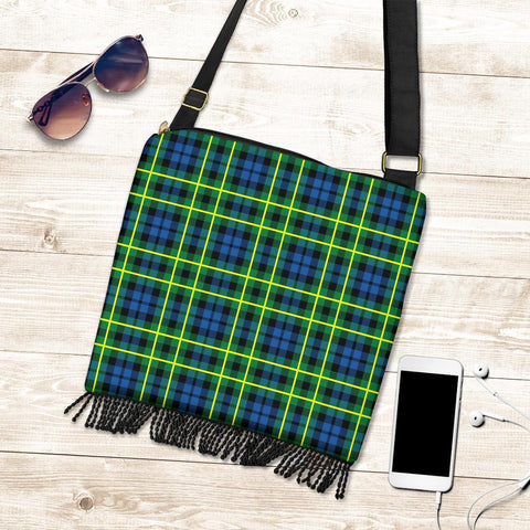Campbell of Breadalbane Ancient Tartan Boho Handbag K7