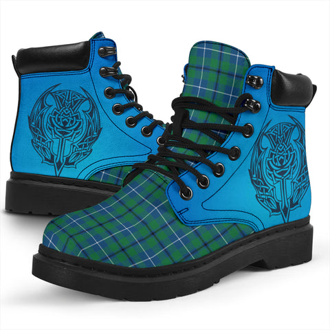 Image of Douglas Ancient Tartan All-Season Boots - Celtic Thistle TH8