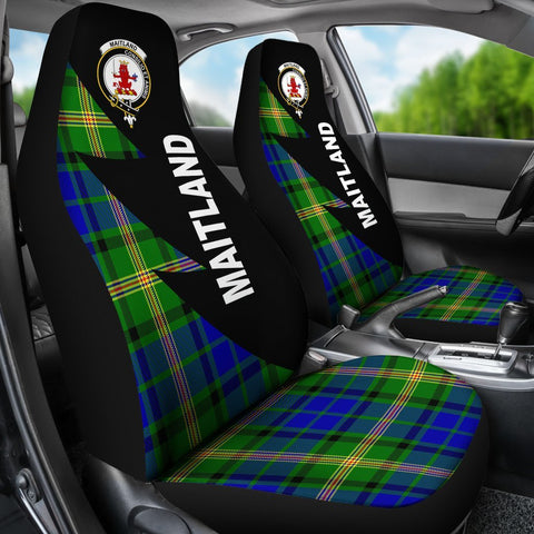 Maitland Clans Tartan Car Seat Covers - Flash Style - BN