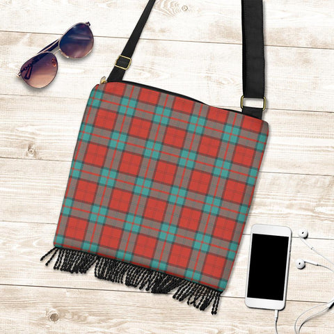 Image of Dunbar Ancient Tartan Boho Handbag K7