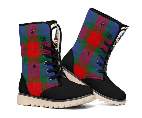 Tartan Women's Snow Boots - Clan Mar Boots - BN