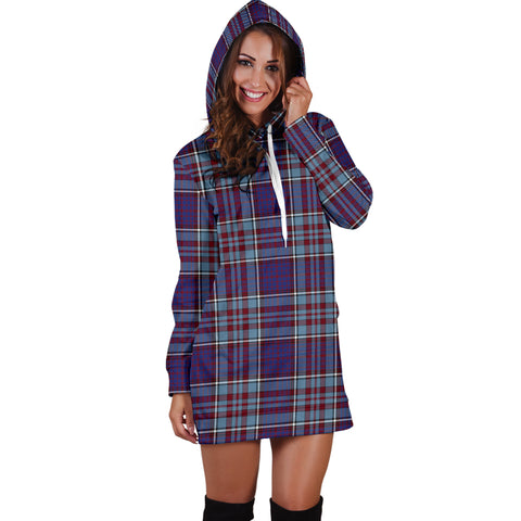 Image of RCAF Tartan Hoodie Dress HJ4