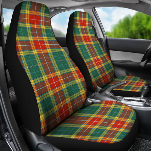 Image of Buchanan Old Sett Tartan Car Seat Covers K7