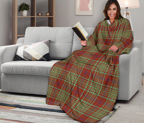 Image of MacGillivray Hunting Ancient Tartan Clans Sleeve Blanket K6