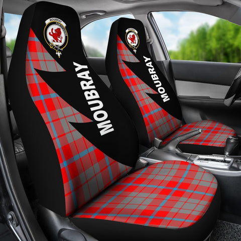Moubray Clans Tartan Car Seat Covers - Flash Style - BN
