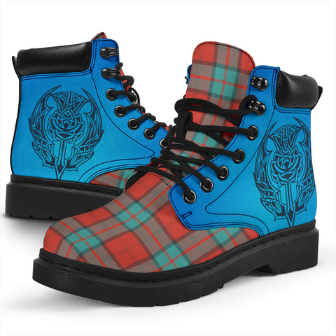 Dunbar Ancient Tartan All-Season Boots - Celtic Thistle TH8