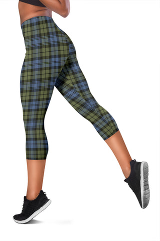 Campbell Faded Tartan Capris Leggings