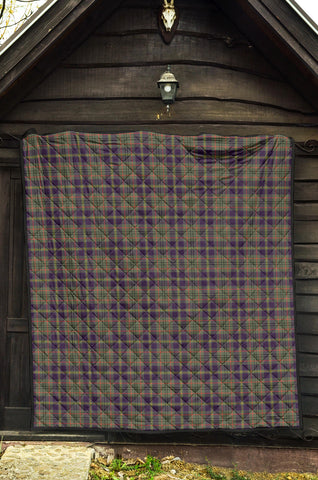 Taylor Weathered Tartan Premium Quilt TH8