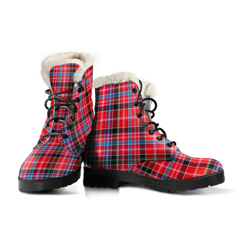 Aberdeen District Tartan Boots For Women