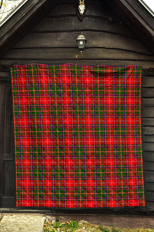 Image of Somerville Modern Tartan Premium Quilt TH8