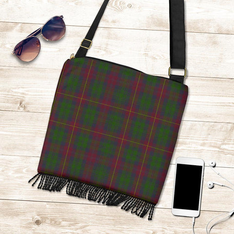 Image of Cairns Tartan Boho Handbag K7