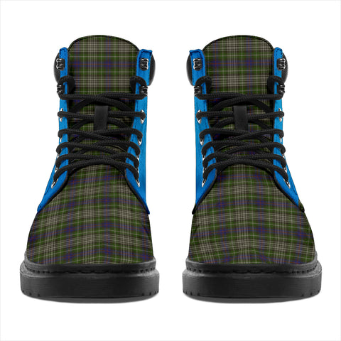 Davidson Tulloch Dress Tartan All-Season Boots - Celtic Thistle TH8