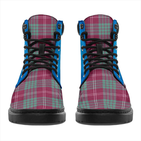 Image of Crawford Ancient Tartan All-Season Boots - Celtic Thistle TH8