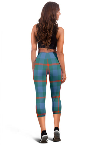 Agnew Ancient Tartan Capris Leggings