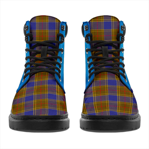 Balfour Modern Tartan All-Season Boots - Celtic Thistle TH8