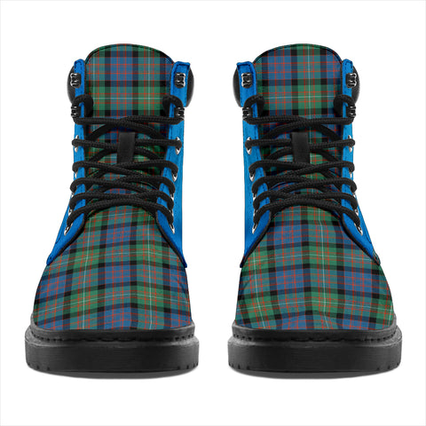 Macdonnell Of Glengarry Ancient Tartan All-Season Boots - Celtic Thistle TH8