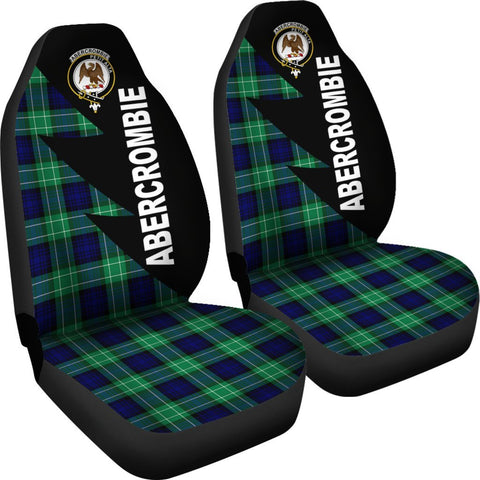 Abercrombie Clans Tartan Car Seat Covers - Flash Style - BN