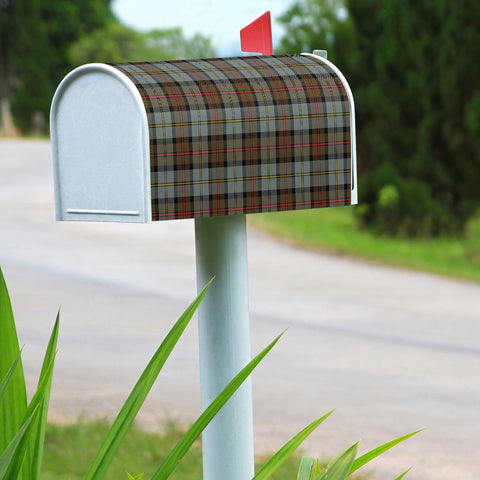 MacLeod of Harris Weathered Scotland Mailbox Clan A91