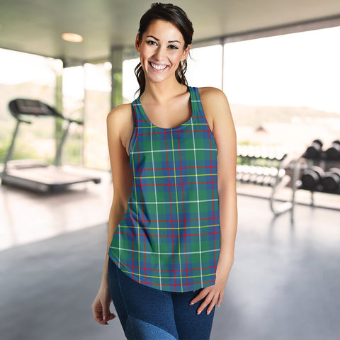 Image of Inglis Ancient Tartan Women Racerback Tank