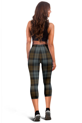Blackwatch Weathered Tartan Capris Leggings