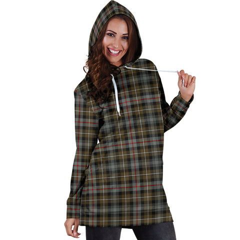MacKenzie Weathered Tartan Hoodie Dress HJ4