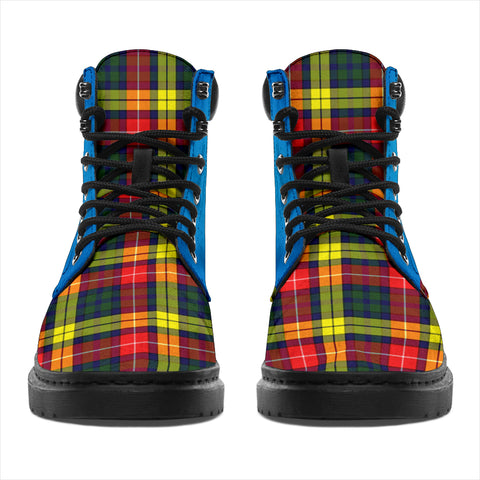 Image of Buchanan Modern Tartan All-Season Boots - Celtic Thistle TH8