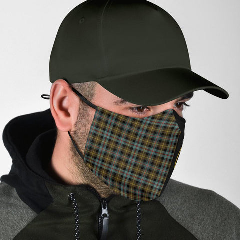 Farquharson Weathered  Tartan Mouth Mask The Half Th88
