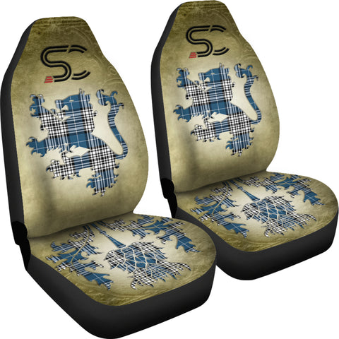 Napier Modern Tartan Car Seat Cover Lion and Thistle Special Style TH8