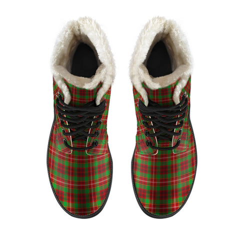 Image of Ainslie Tartan Boots For Men