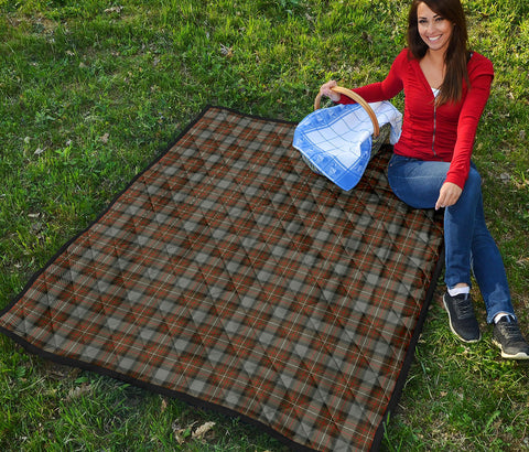 Fergusson Weathered Tartan Premium Quilt TH8