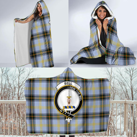 Image of Bell Clans Tartan Hooded Blanket - BN