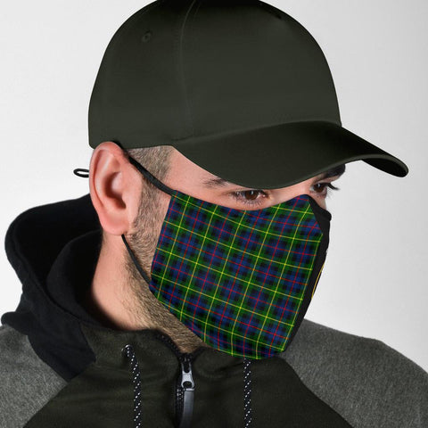 Farquharson Modern  Tartan Mouth Mask The Half Th88