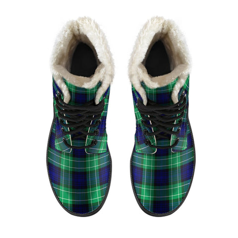 Abercrombie Tartan Boots For Men