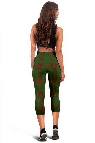 Image of Maxwell Hunting Tartan Capris Leggings