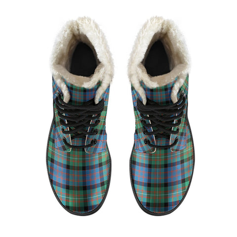 Macdonnell Of Glengarry Ancient Tartan Boots For Men