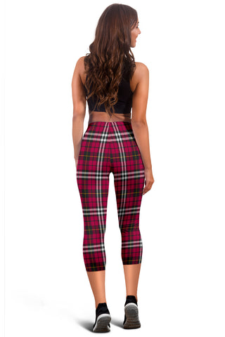 Little Tartan Capris Leggings