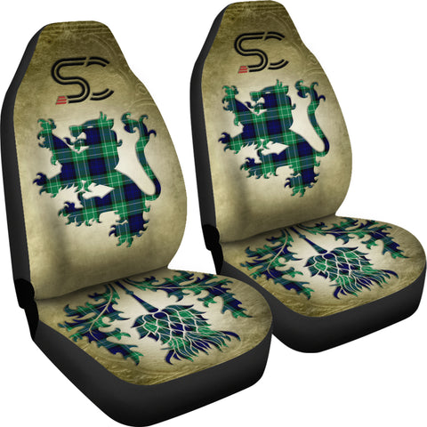Image of Abercrombie Tartan Car Seat Cover Lion and Thistle Special Style TH8