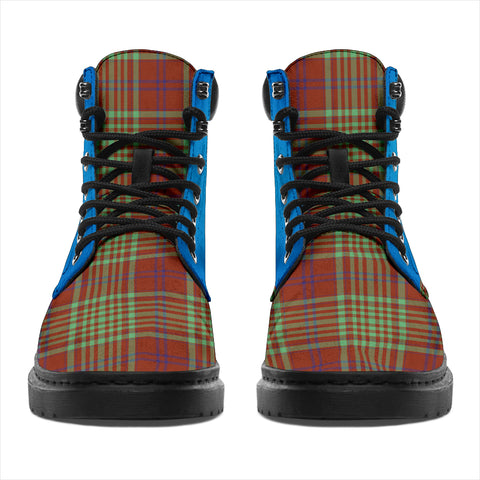 Macgillivray Hunting Ancient Tartan All-Season Boots - Celtic Thistle TH8