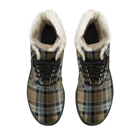 Graham Of Menteith Weathered Tartan Boots For Men