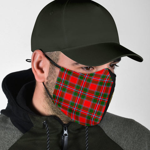 Spens Modern  Tartan Mouth Mask The Half Th88