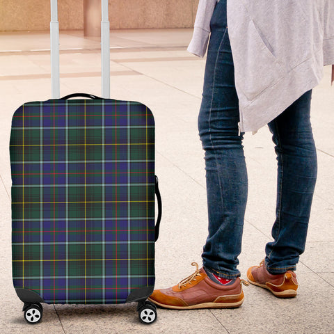 Image of MacInnes Modern Tartan Luggage Cover HJ4