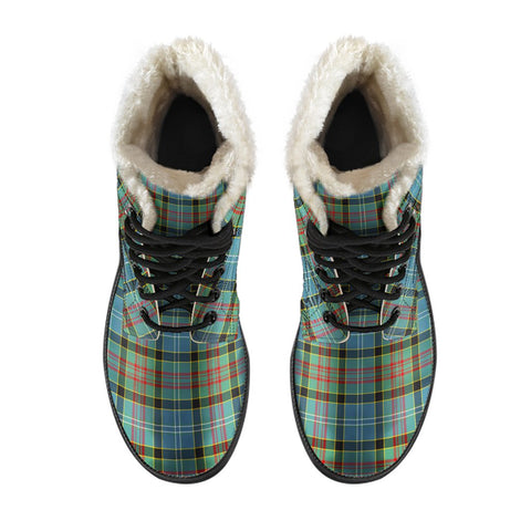 Paisley District Tartan Boots For Men
